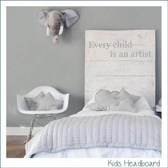 Testiera letto per bambini!