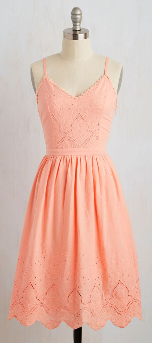 Gorgeous! Coral sundress