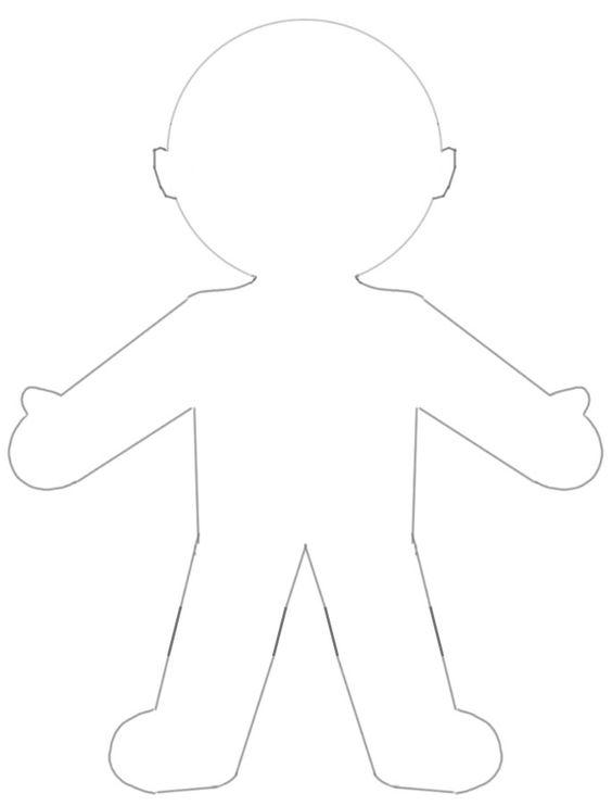 paper dolls outline