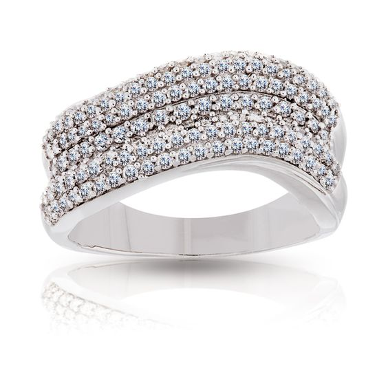 9ct White Gold Ring | Wallace Bishop Jewellers | Make it ...