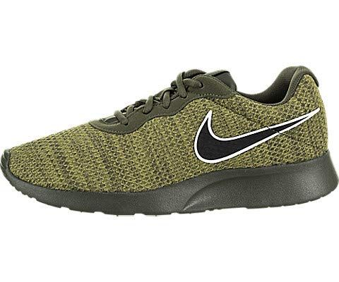 NIKE Men's Tanjun Sneakers Breathable Textile Uppers and