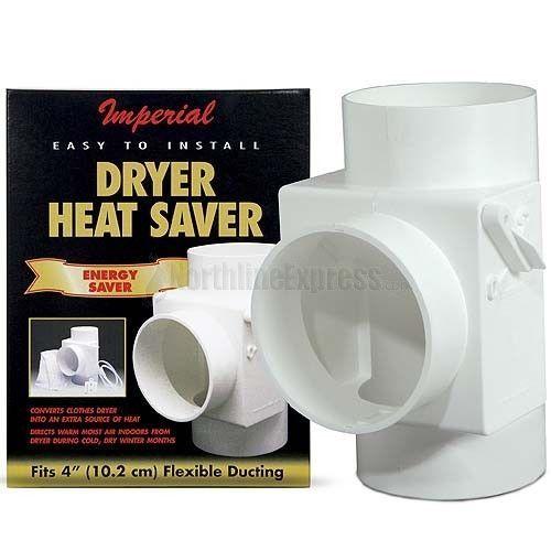 4 White Dryer Vent Heat Saver Dryer Vent Dryer Dryer Vent Hose