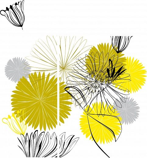 Sommerblüten #wallpaper #design #christianeElle