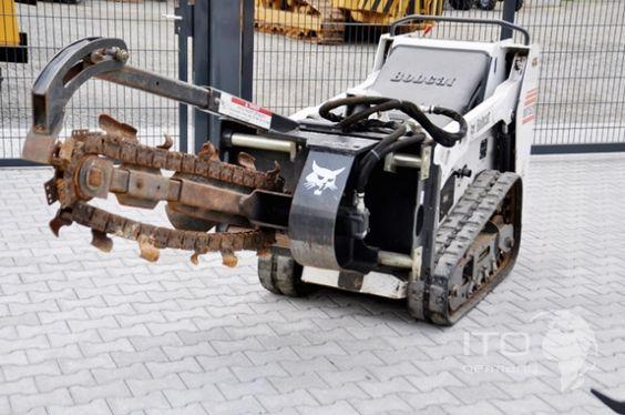 Kompaktlader Bobcat MT52 Raupenlader Baumaschinen Verkauf http://www.ito-germany.com/