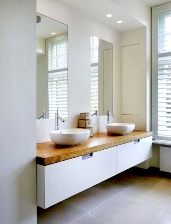 Muebles De Baño Flotantes:Bathroom Decorating Ideas