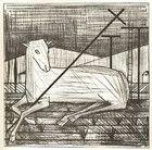 Buffet, Bernard, l'agneau, 1950, sacredartmeditations com