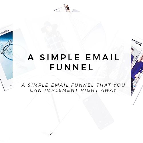 Create a simple email marketing funnel with this blog email funnel - new blueprint css framework video tutorial