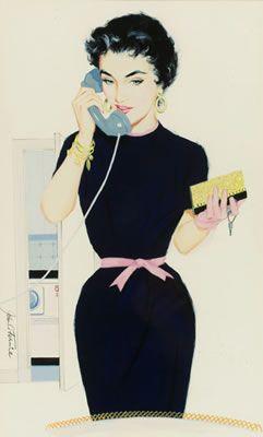 John Fernie - Pinup on the phone