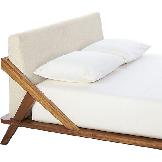 drommen queen bed in bedroom furniture cb2 bedroom furniture cb2