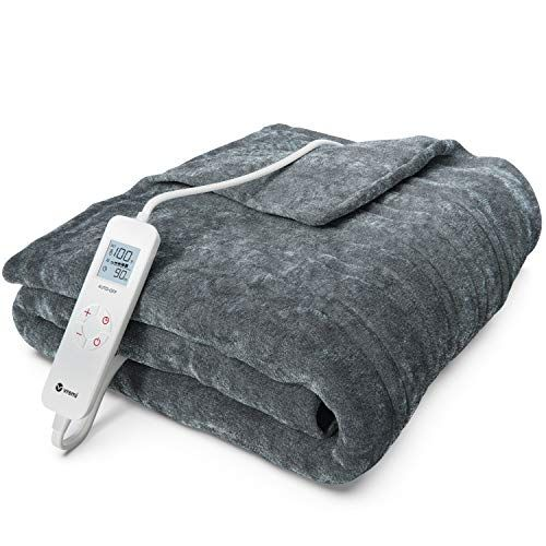 Best Heated Blankets With Timer In 2020 Electric Throw Blanket Electric Blankets Heated Blanket