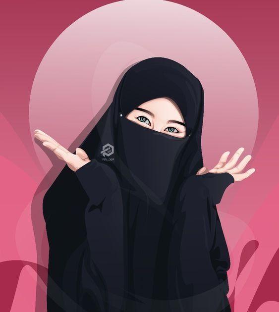 Paling Keren 27 Gambar Kartun Muslimah Berpasangan Terbaru Kumpulan Gambar Kartun Muslimah Couple Bercadar Cara Baruq Gambar Kar Di 2020 Gambar Gambar Kartun Kartun