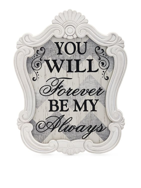 Forever Love Wall Decor