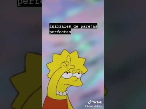 Iniciales De Parejas Perfectas Parte 1 Youtube In 2021 Lisa Simpson Fictional Characters Youtube
