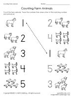 math worksheet : thumbnail of counting farm animals worksheet  teaching  : Farm Animals Worksheets For Kindergarten