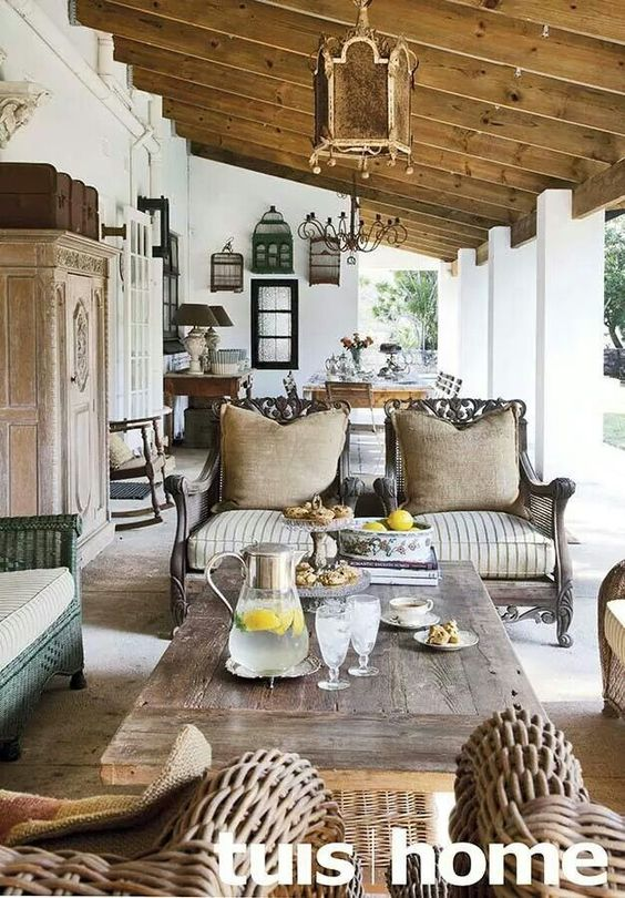 Lovely veranda in South Africa