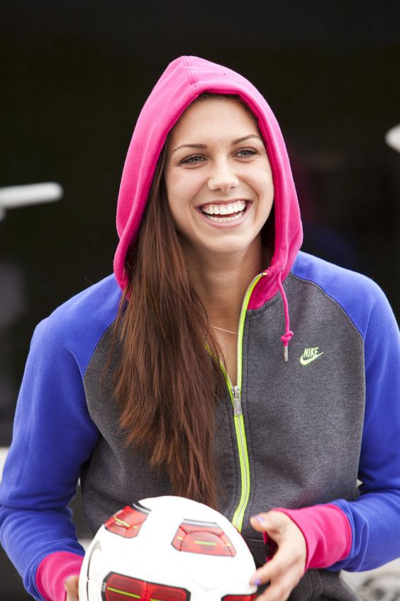 Alex Morgan   Pro Soccer Player -- I want her hoodie