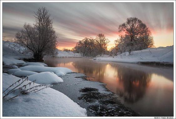 The Mirror of the Sleepy River by Vitaly Bryksin - Pixdaus