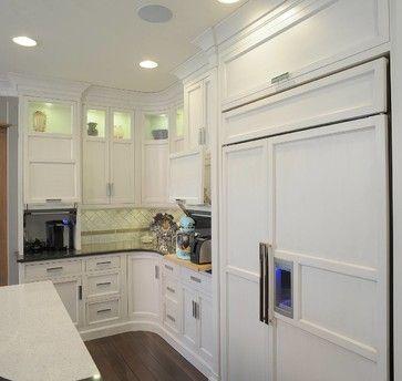 Restoration Hardware Style Home transitional kitchen-appliance garage