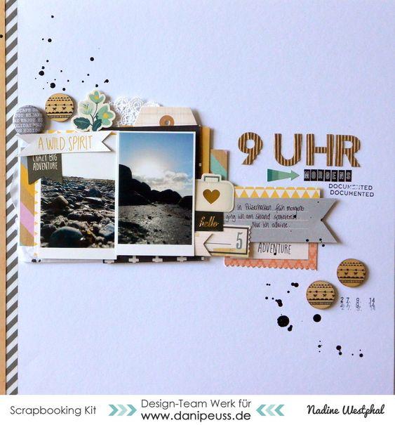 #papercrafting #scrapbook #layout - Layout mit dem #dpOktoberkit15 von Nadine Westphal für www.danipeuss.de