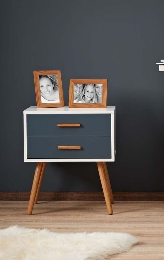 Best Retro Bed Side Table Vintage End Coffee Wooden Stand 400 x 300