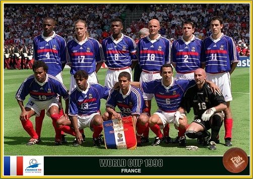 Fan Pictures 1998 Fifa World Cup France Fifa World Cup France France Team World Cup Teams