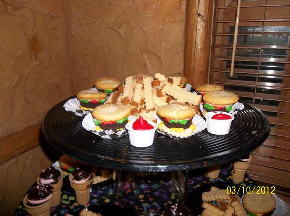 ... aunt pound cakes hamburgers cupcake french cakes hamburger cupcakes