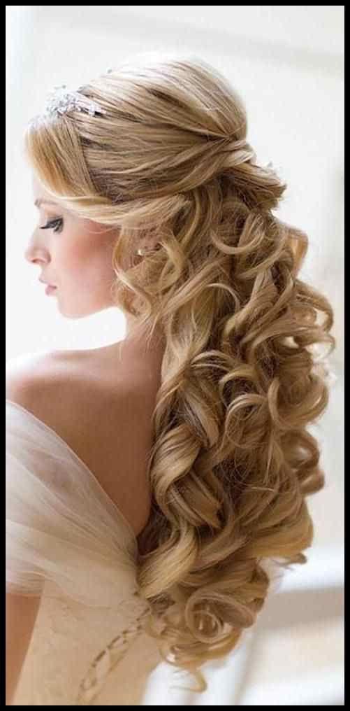Best Collection Of Long Hairstyles For Wedding Hair Getting Down Fris Collection Getting Hairstyles Hochzeitsfrisuren Haare Hochzeit Brautfrisur