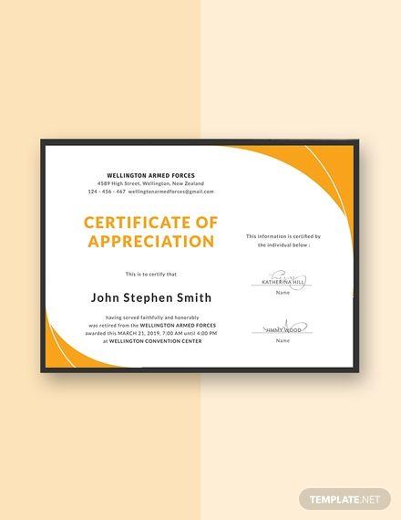 Indesign Certificate Template Certificate Templates Certificate Design Template Best Templates