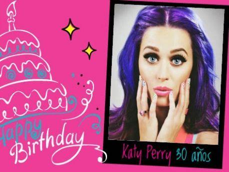 Happy B-day 30, Katy Perry!