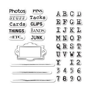 Sizzix Framelits Die Set 4PK w/Stamps - Gypsy Files $24.99