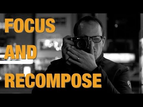 How to Focus and Recompose with a DSLR - YouTube