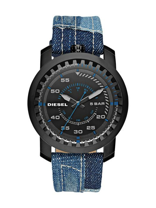 《ディーゼルメンズ腕時計》ベルトで今風コーデをつくる5つの印象