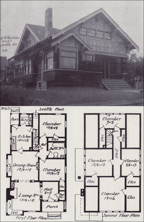 Western homes house plans and vintage house plans on for Western homes floor plans