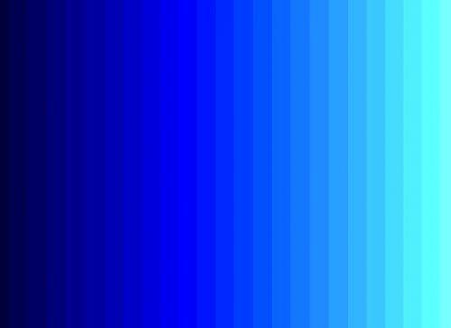 اللون الأزرق الباهت والسماوي منه يعبر عن نبل الأخلاق والمثالية في التقوى ، ويشير الأزرق الناصع إلى الإخلاص والوفاء . واللون الأزرق هو لون الصفاء والهدوء ويناسب كثيرا غرف النوم وأماكن الراحة لأنه يق…
