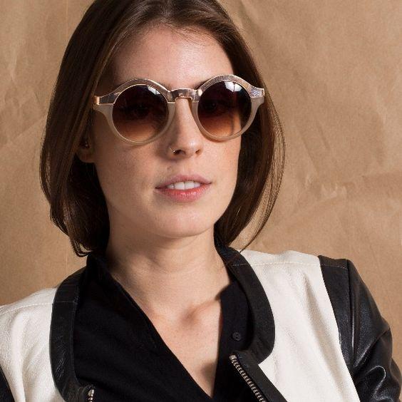 Óculos Metal e Resina www.magarderobestore.com