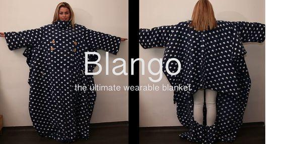 Blango the ultimate wearable blanket | Indiegogo