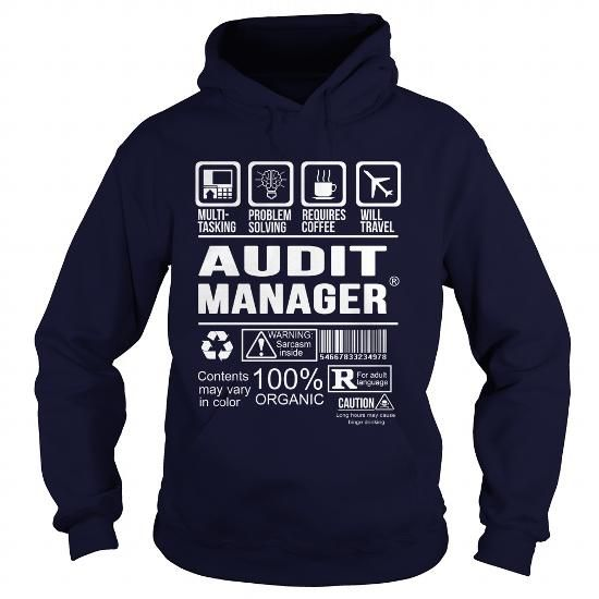 AUDIT MANAGER T Shirts, Hoodies. Get it here ==► https://www.sunfrog.com/LifeStyle/AUDIT-MANAGER-Navy-Blue-Hoodie.html?41382