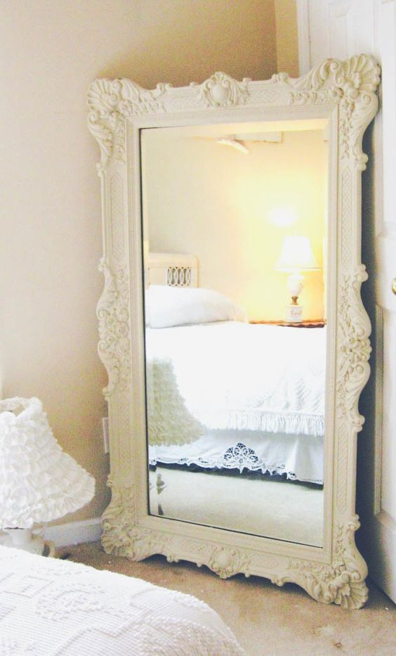 Walk in inspirational and large mirrors on pinterest for Bedroom mirror inspiration