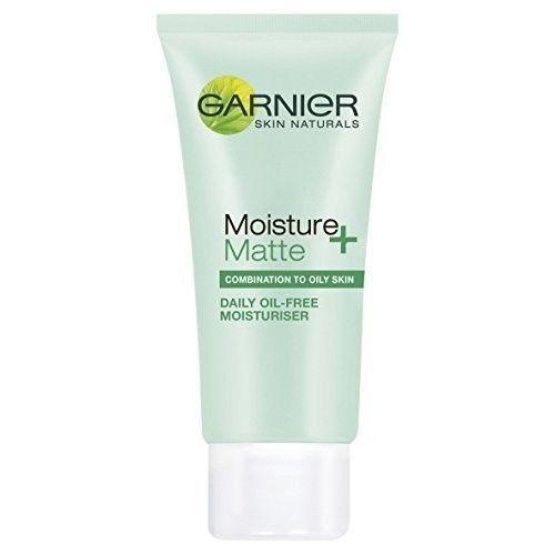 Garnier Daily Oil Free Face Moisturiser Matte Cream Combination Oily Skin 50ml Face Moisturizer Cleanser For Combination Skin Moisturizer For Oily Skin