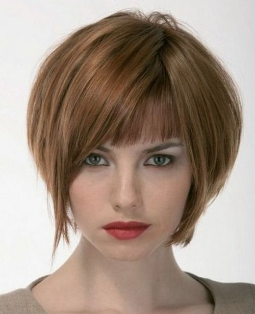 nice Stacked Bob Haircuts 2016 for Fine Hair - 2016 Short Hairstyles