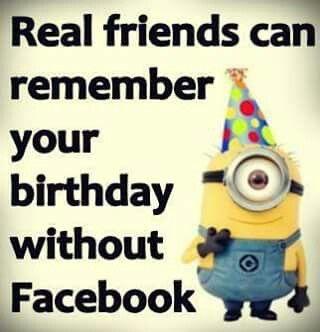 Rigtige venner kan huske din fødselsdag uden Facebook