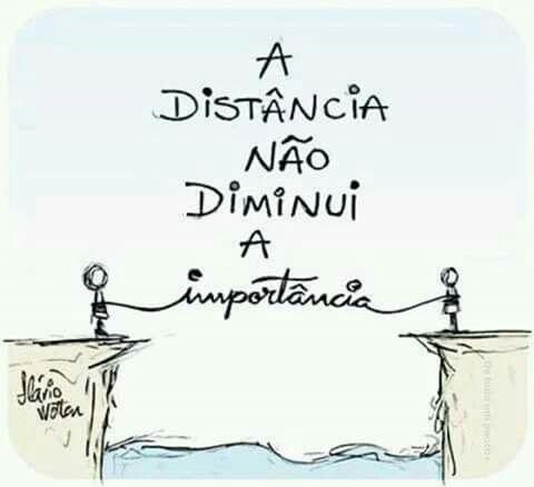 Qualquer distância...