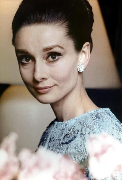 Image result for audrey hepburn with 40 years old