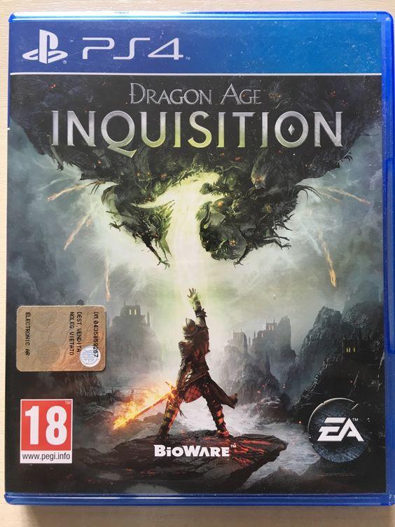 Dragon Age: Inquisition - PS4  Dragon Age Inquisition per PS4. Usato pochissimo. in perfetto stato!...   https://nemb.ly/p/4yk5kTewW Happily published via Nembol