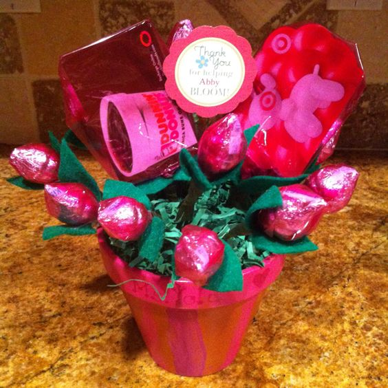 ... flowers | Pinterest | Hershey's Kisses, Kiss and Teacher Appreciation