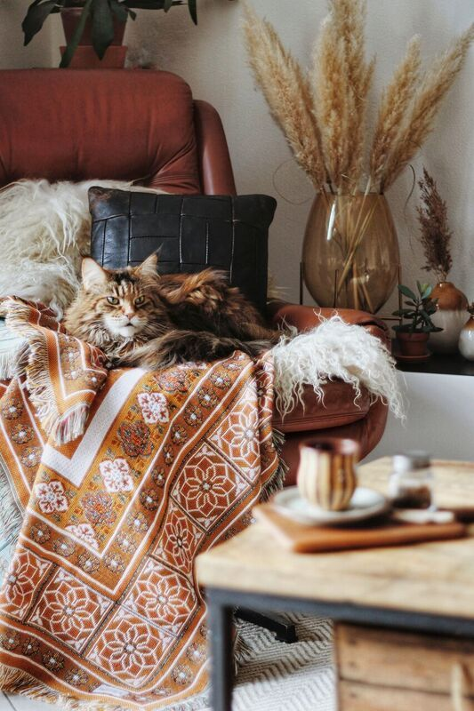 The Sunrise Rug 109aud Boho Interior Dark Interiors Cozy Blankets