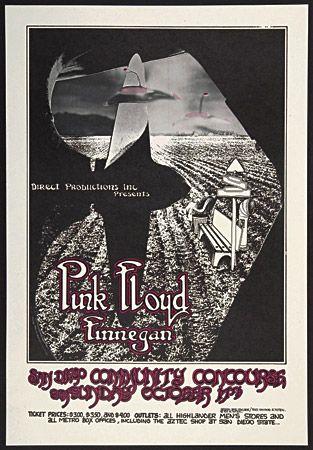 pink floyd concert posters | Lot Detail - Pink Floyd - 1971 Concert Poster