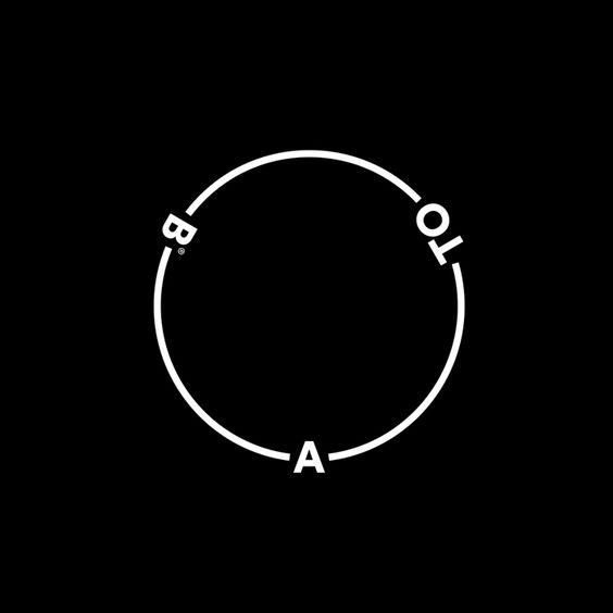 A-TO-B by Stockholm Design Lab. 2015 #logo #branding #design