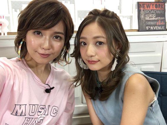宇野実彩子さんと伊藤千晃さん