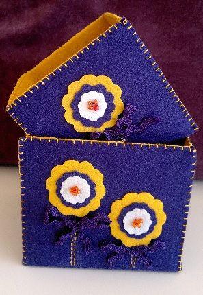 Mor & Sarı 2 li çok amaçlı kutu. Sipariş için evimicinhersey@gmail.com Violet & Yellow storage box. For order mail evimicinhersey@gmail.com